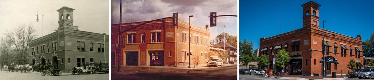 Central Fire Station Past Present